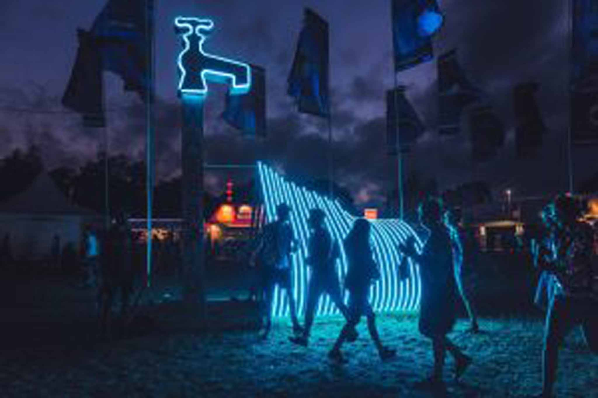 thumbnail image for WaterAid Pavilion: Glastonbury